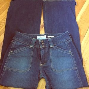 Bell bottom stretch Old Navy size 6 women's jeans